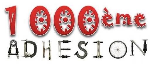 Fête de la 1000e Adhésion !