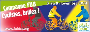 Cyclistes brillez